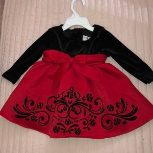 Rare Editions baby girl dress ❤️🖤